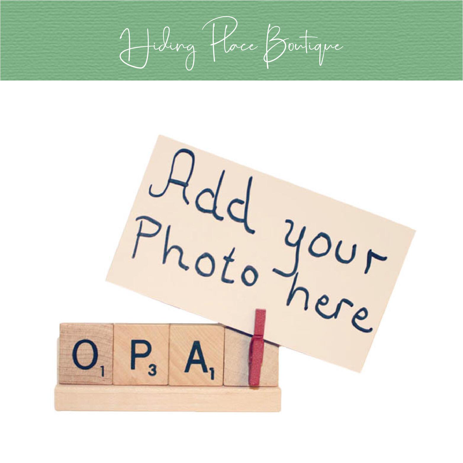 opa photo frame