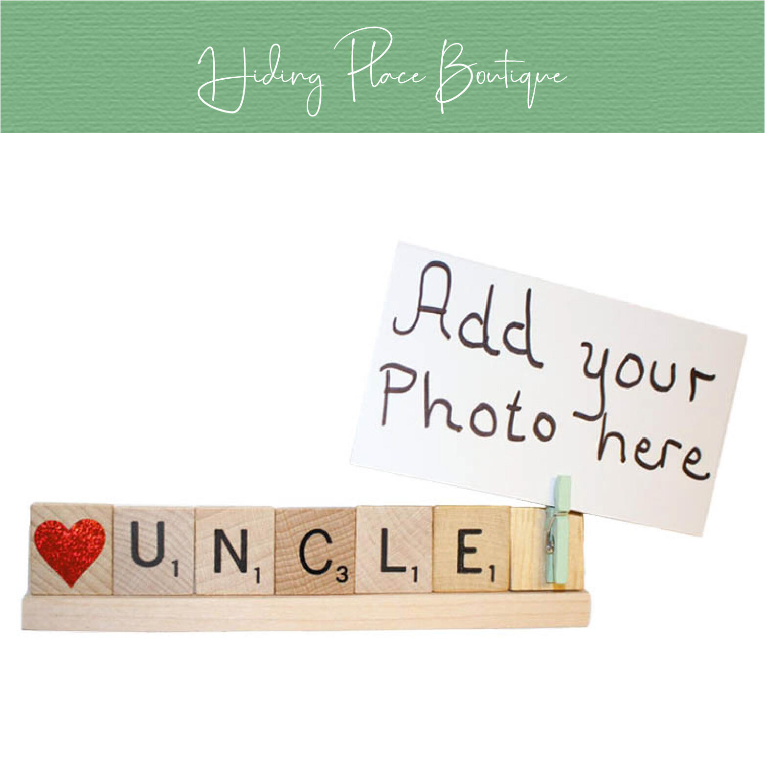 uncle photo frame