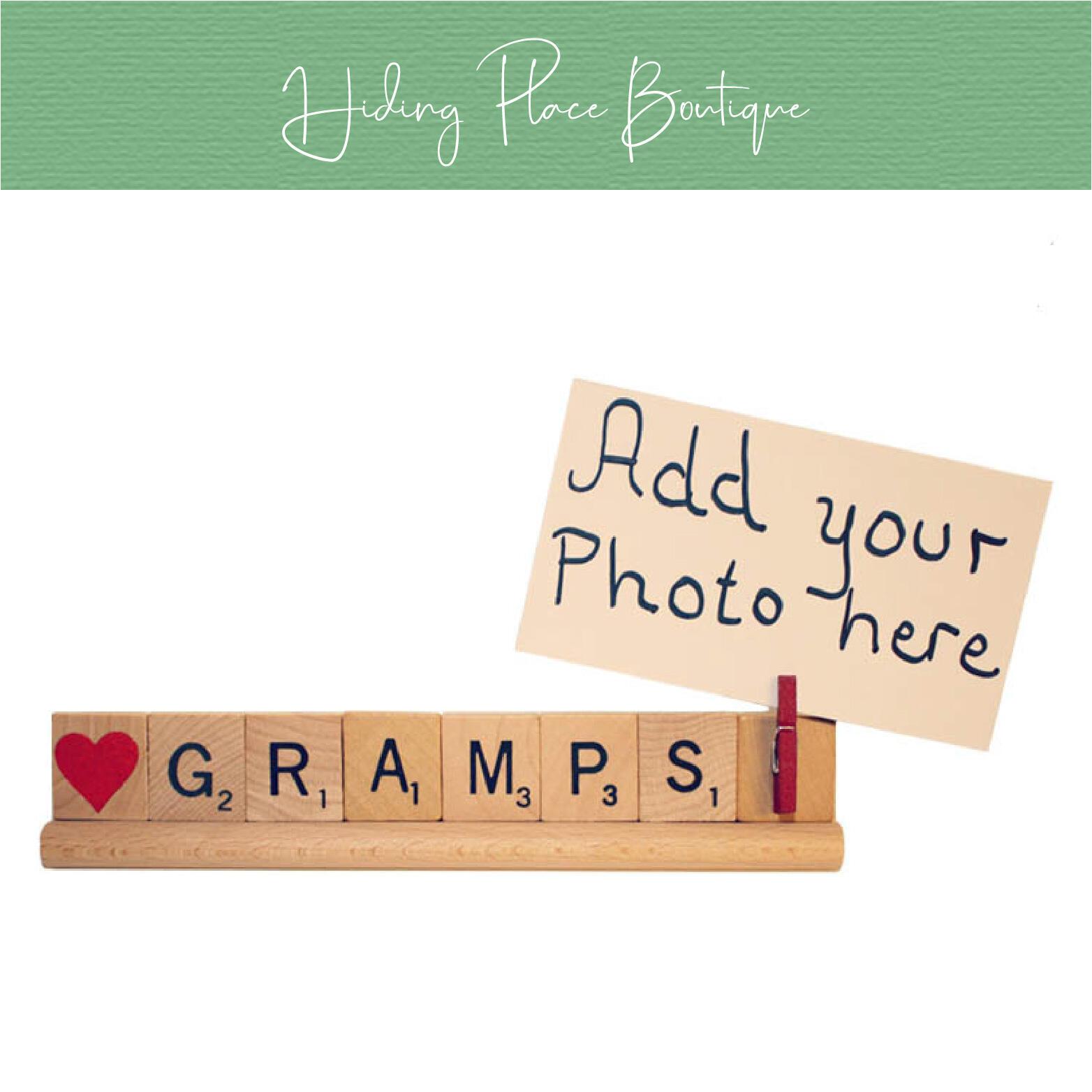 gramps photo frame