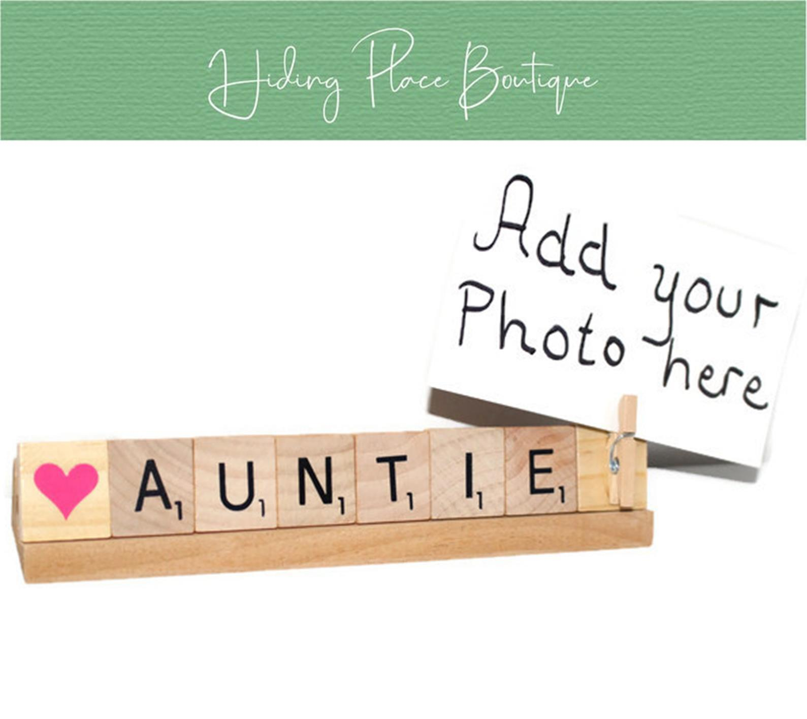 auntie photo frame