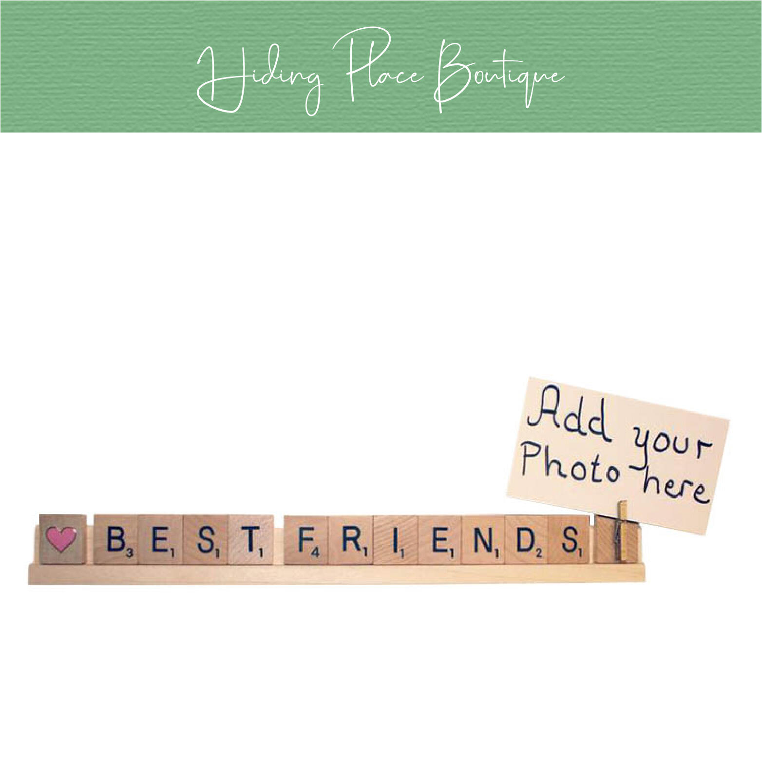 best friends photo holder