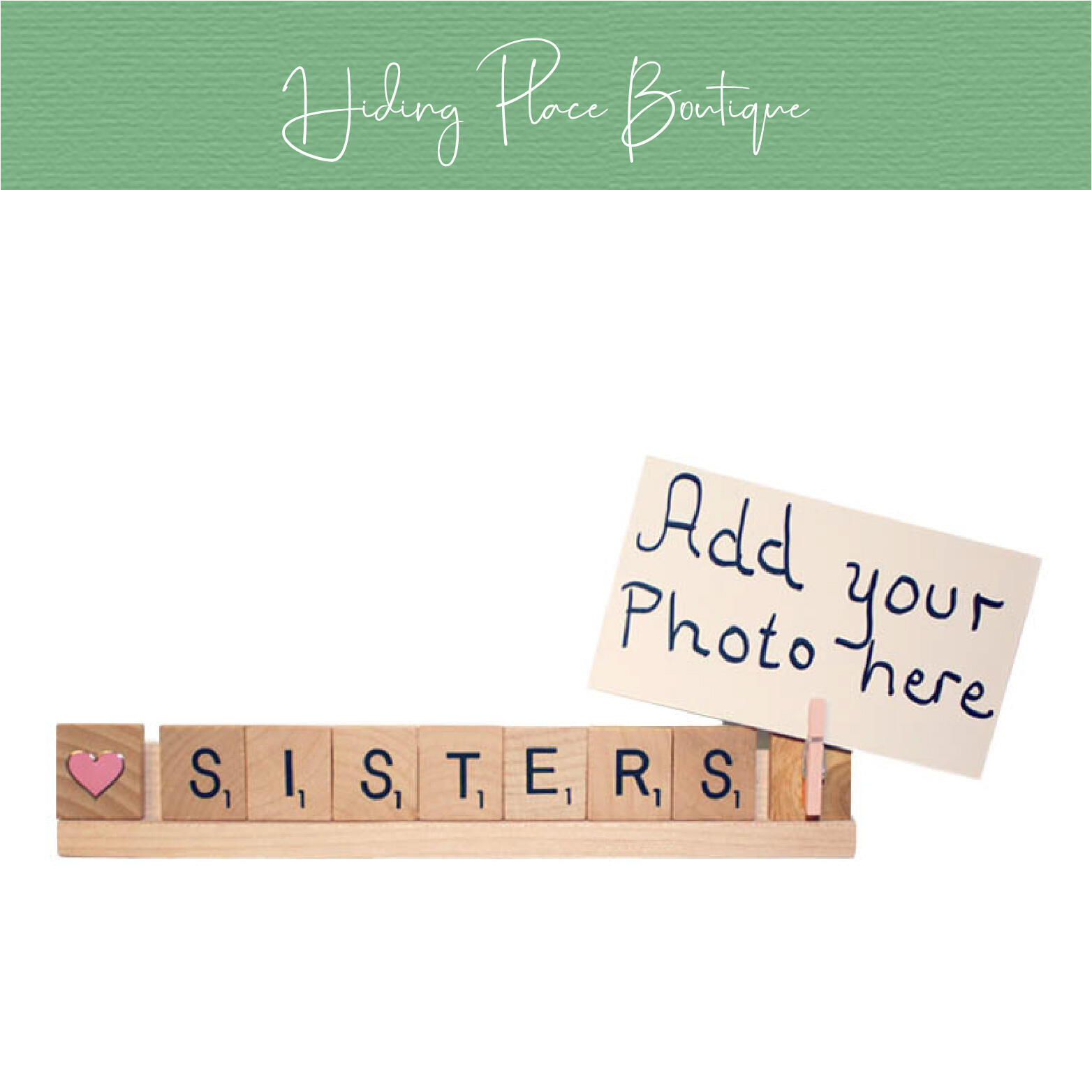 sisters photo frame