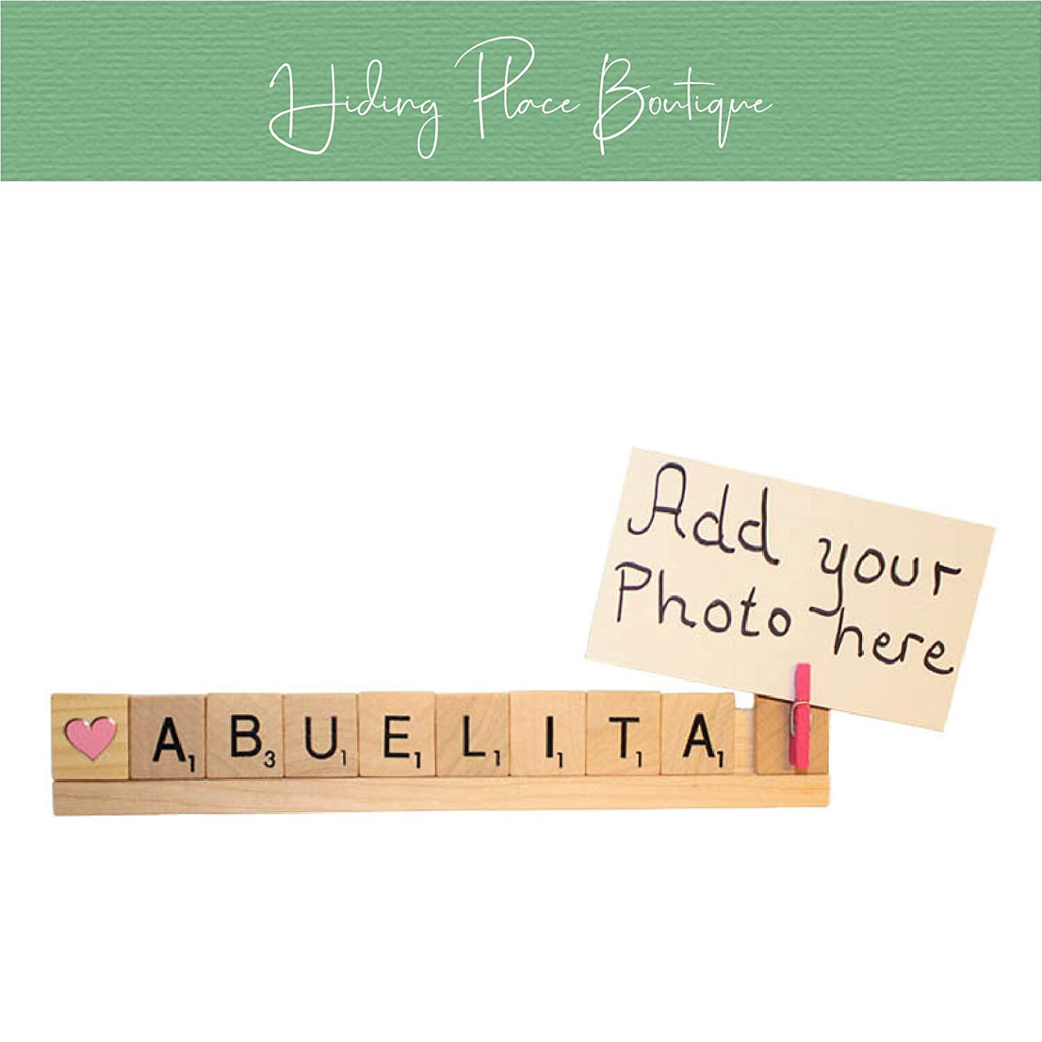 Abuelita Photo Frame