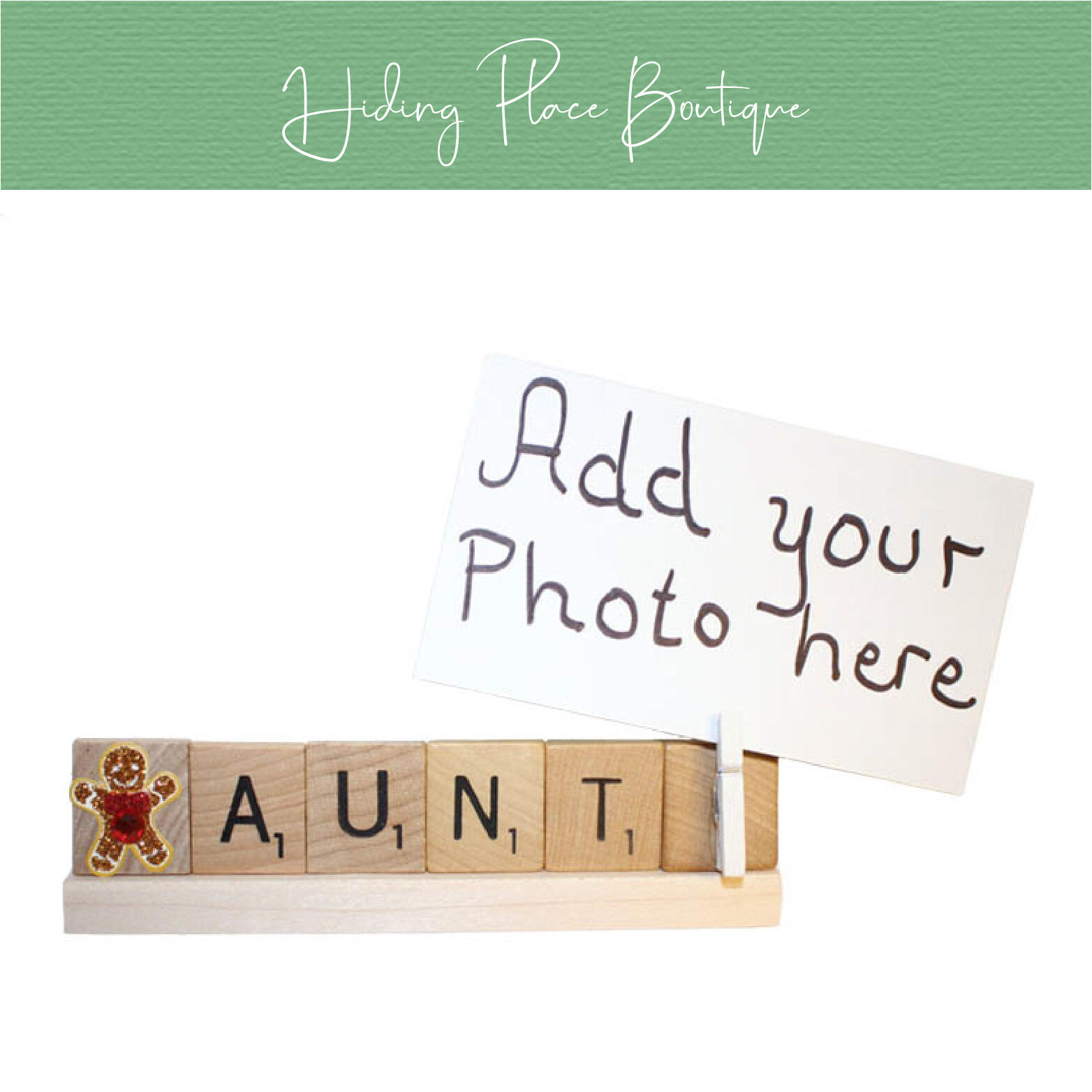 aunt photo frame