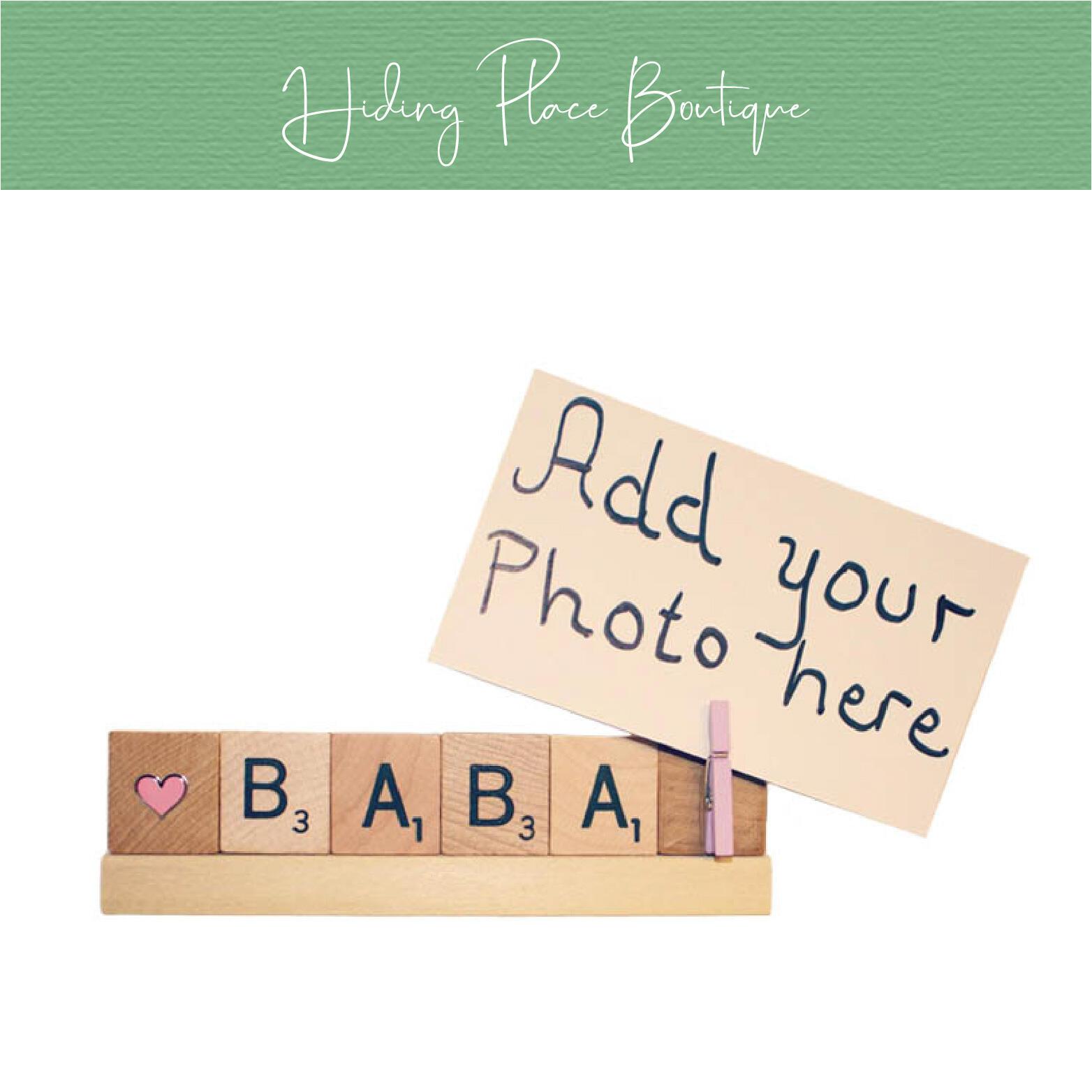 baba photo frame