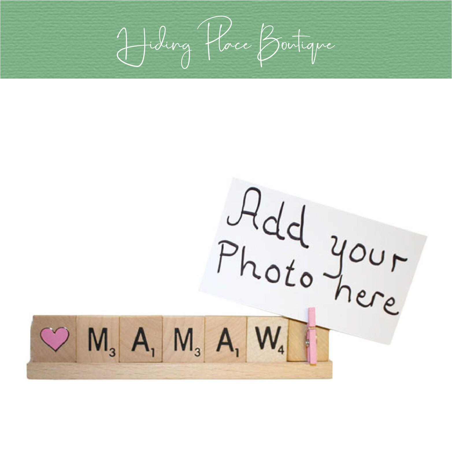 mamaw photo frame