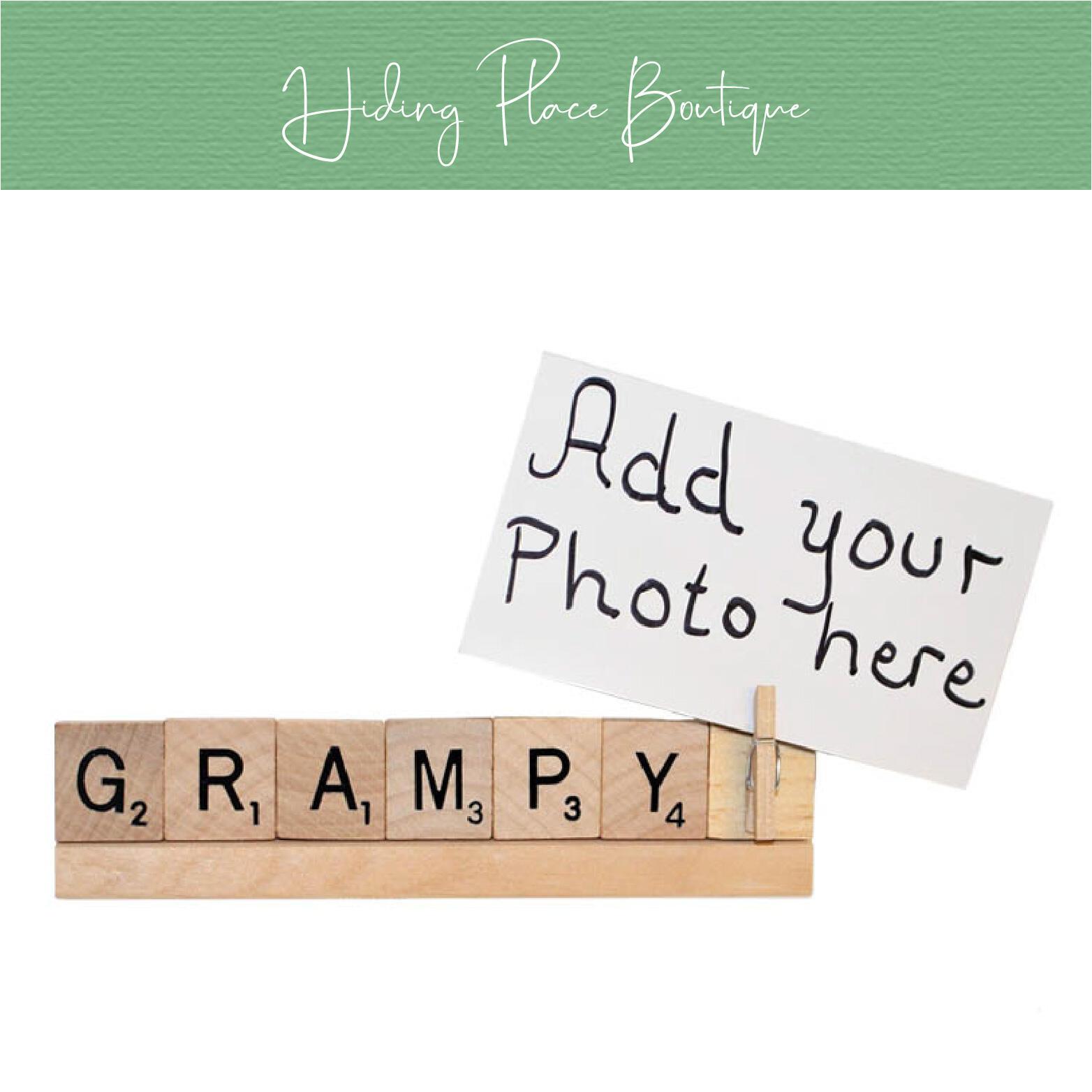 grampy photo frame