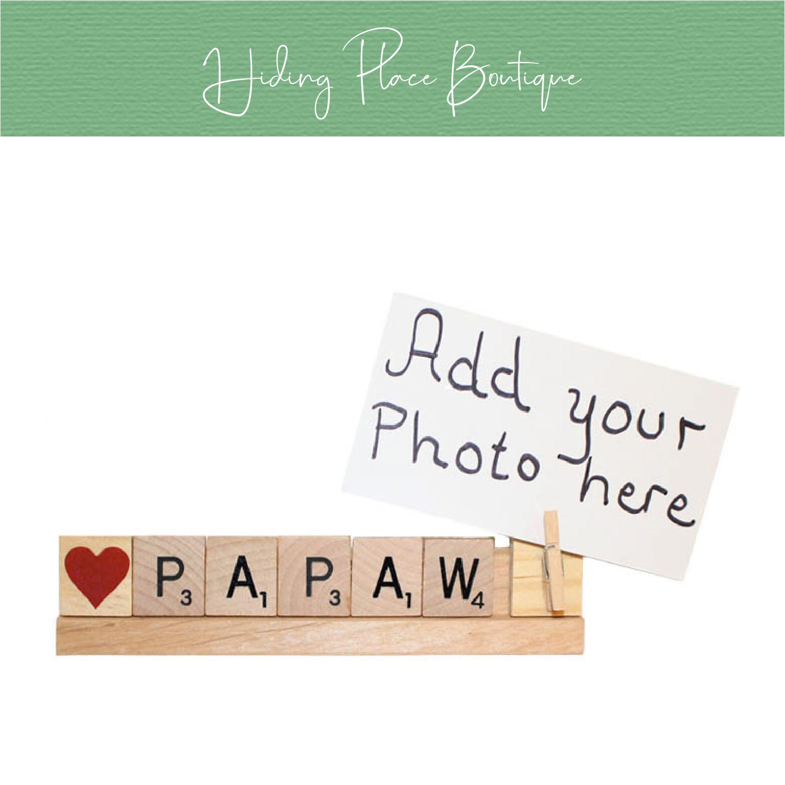 papaw photo frame