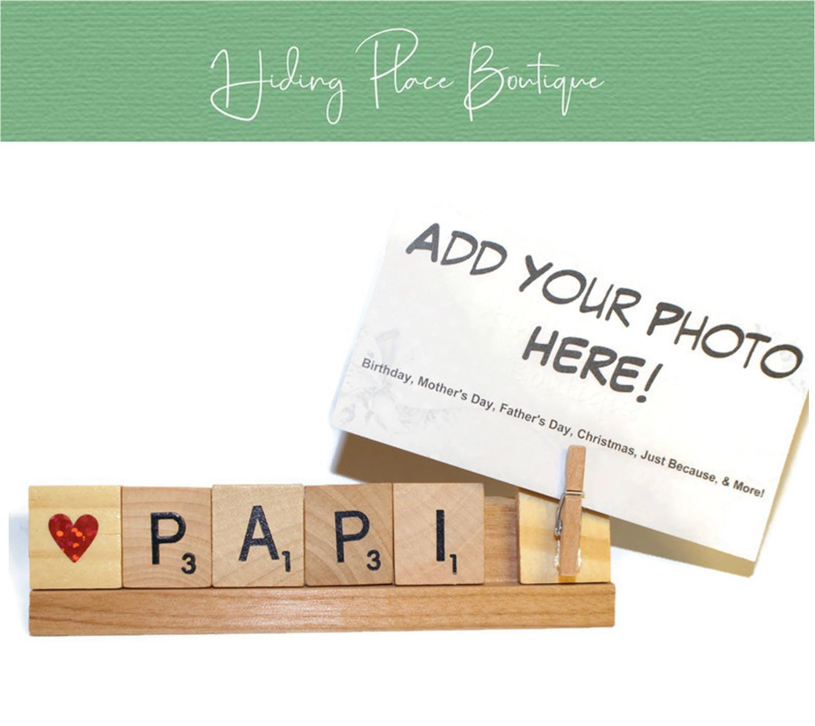 papi photo frame