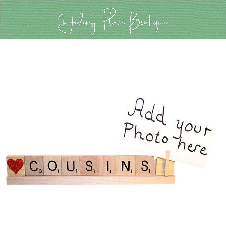 cousins photo frame