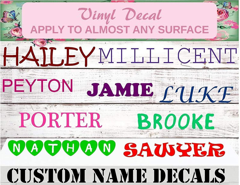 custom name decals