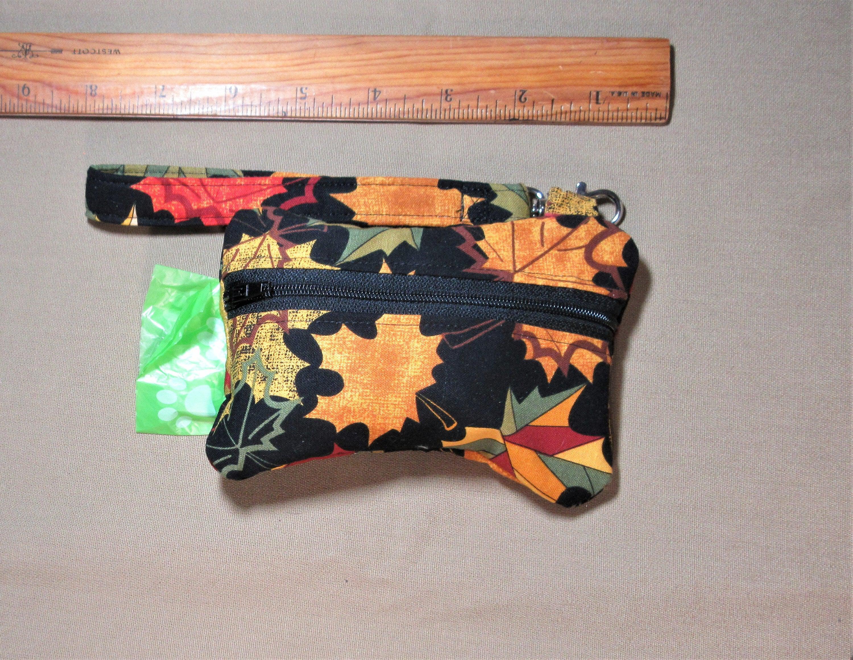 gi canadian maple leaf poop bag holder handcrafted by A Fur Baby Favorite