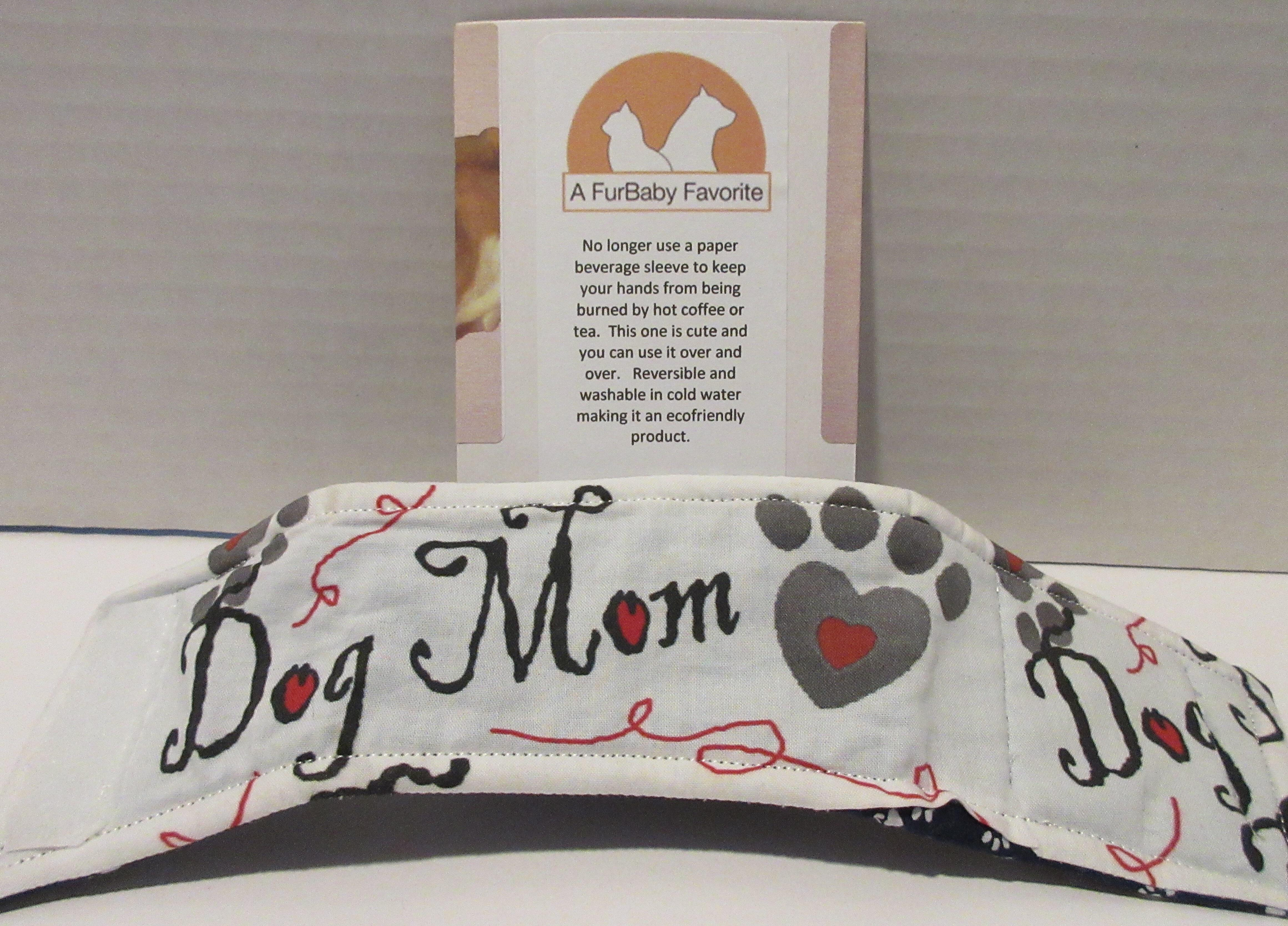 dog dad dog mom drink sleeve by a fur baby favorite fathers day gift