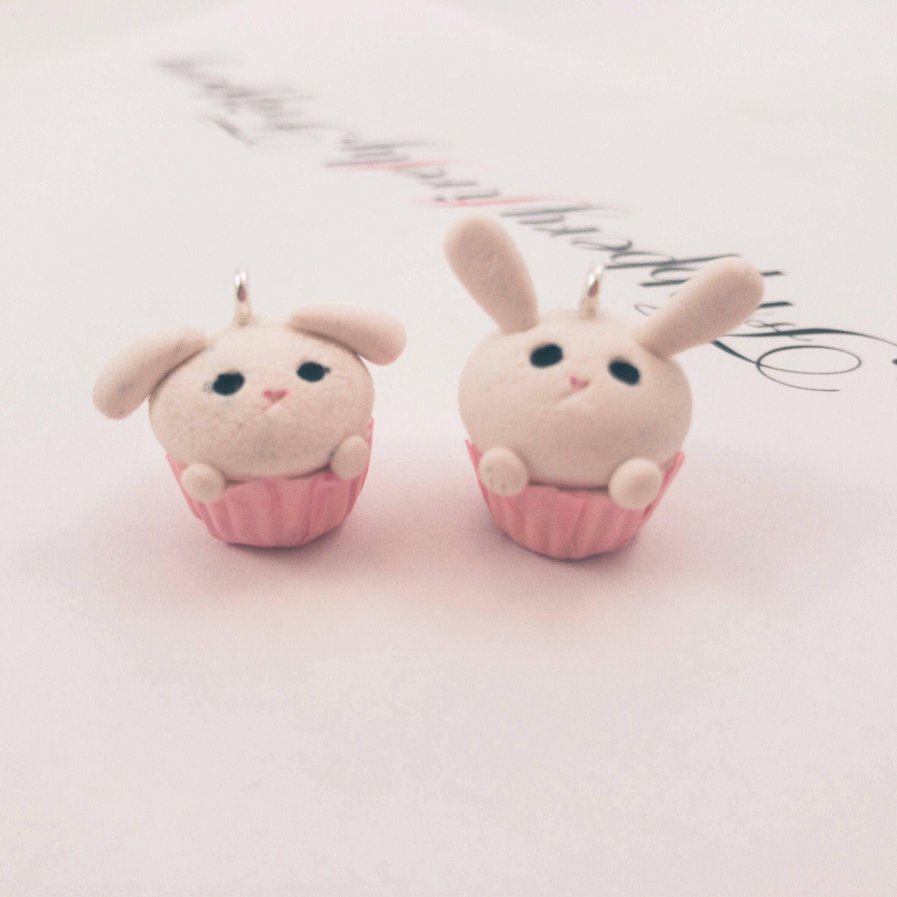 fireflyFrippery bunnybake charms front view
