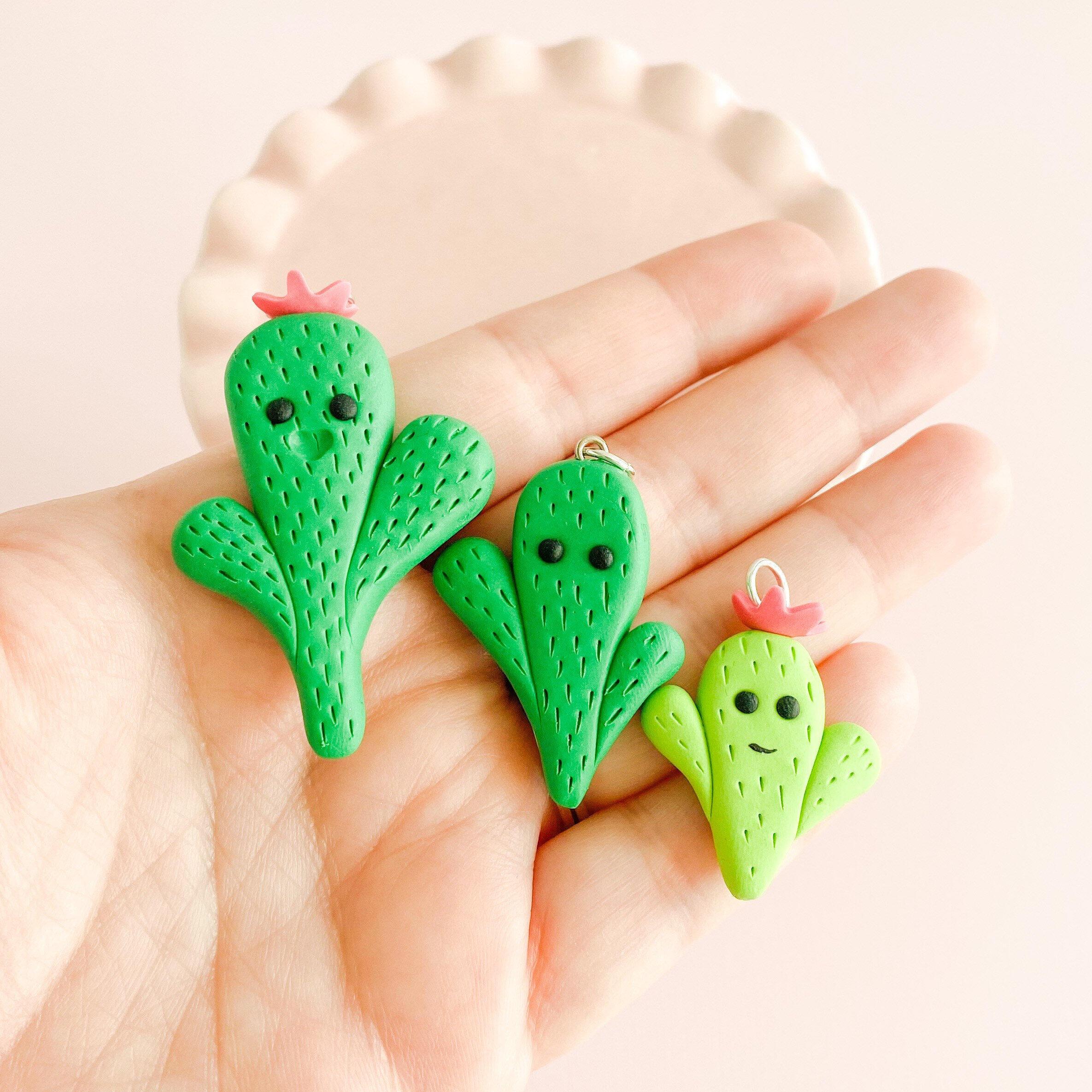fireflyFrippery Kawaii Cactus Charms
