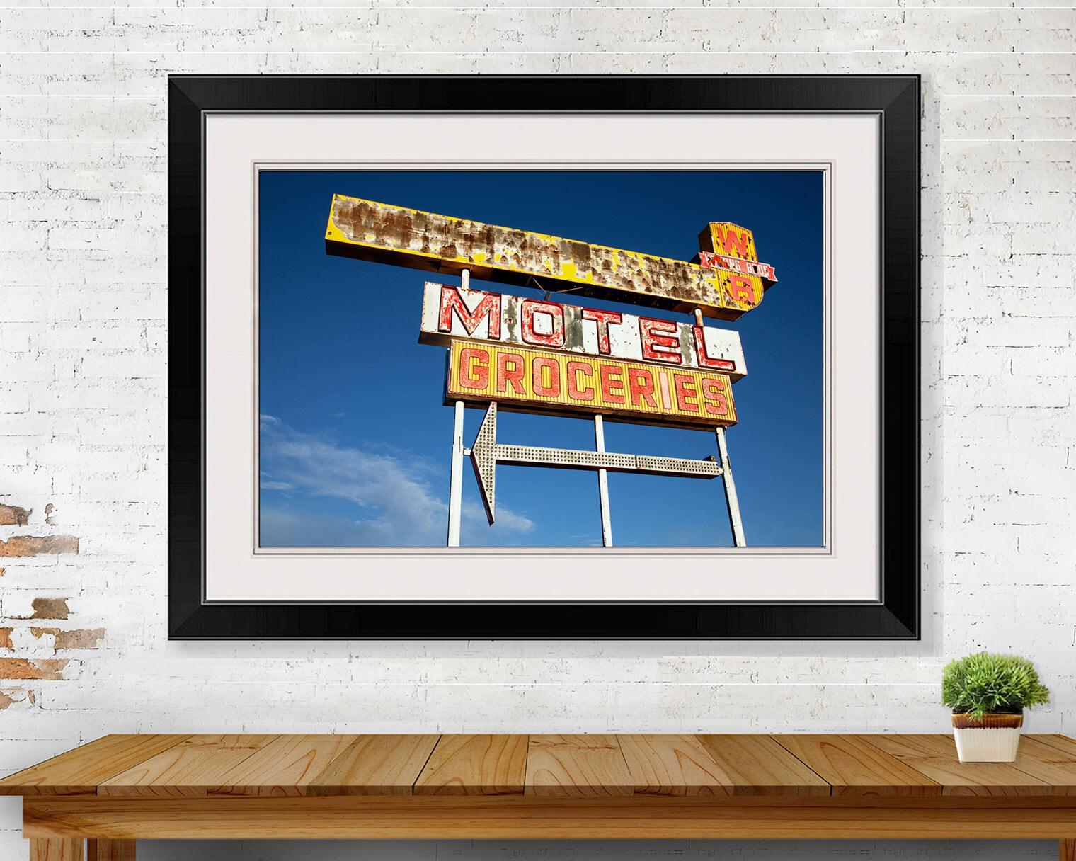Neon Sign California Route 66 WB Motel