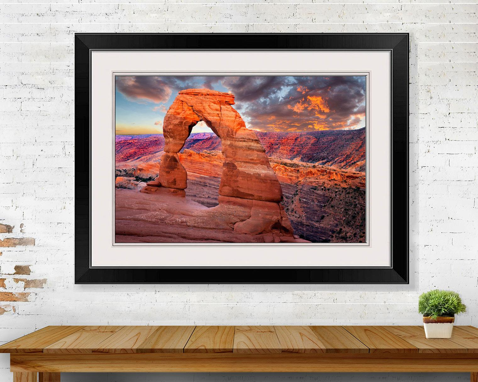 Red Delicate Arch Arches National Park