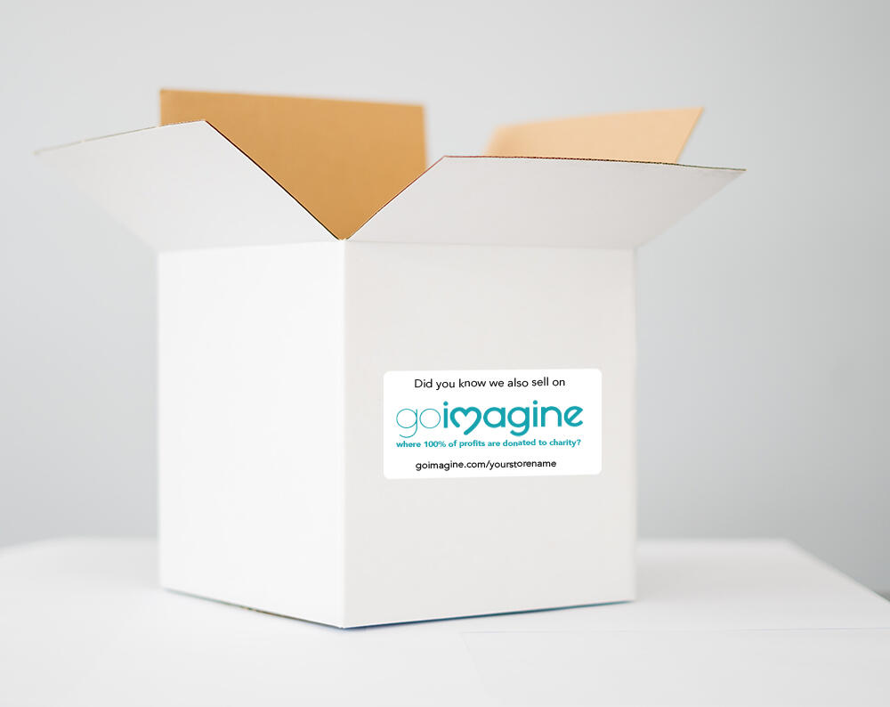 packaging stickers for goimagine
