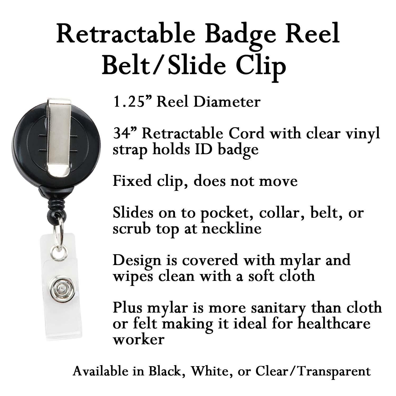 Flamingo Retractable ID Badge Holder ID Badge Clip Gift for RN Nurse Badge Reel Cute Badge Reel Name Tag Holder Name Badge Holder