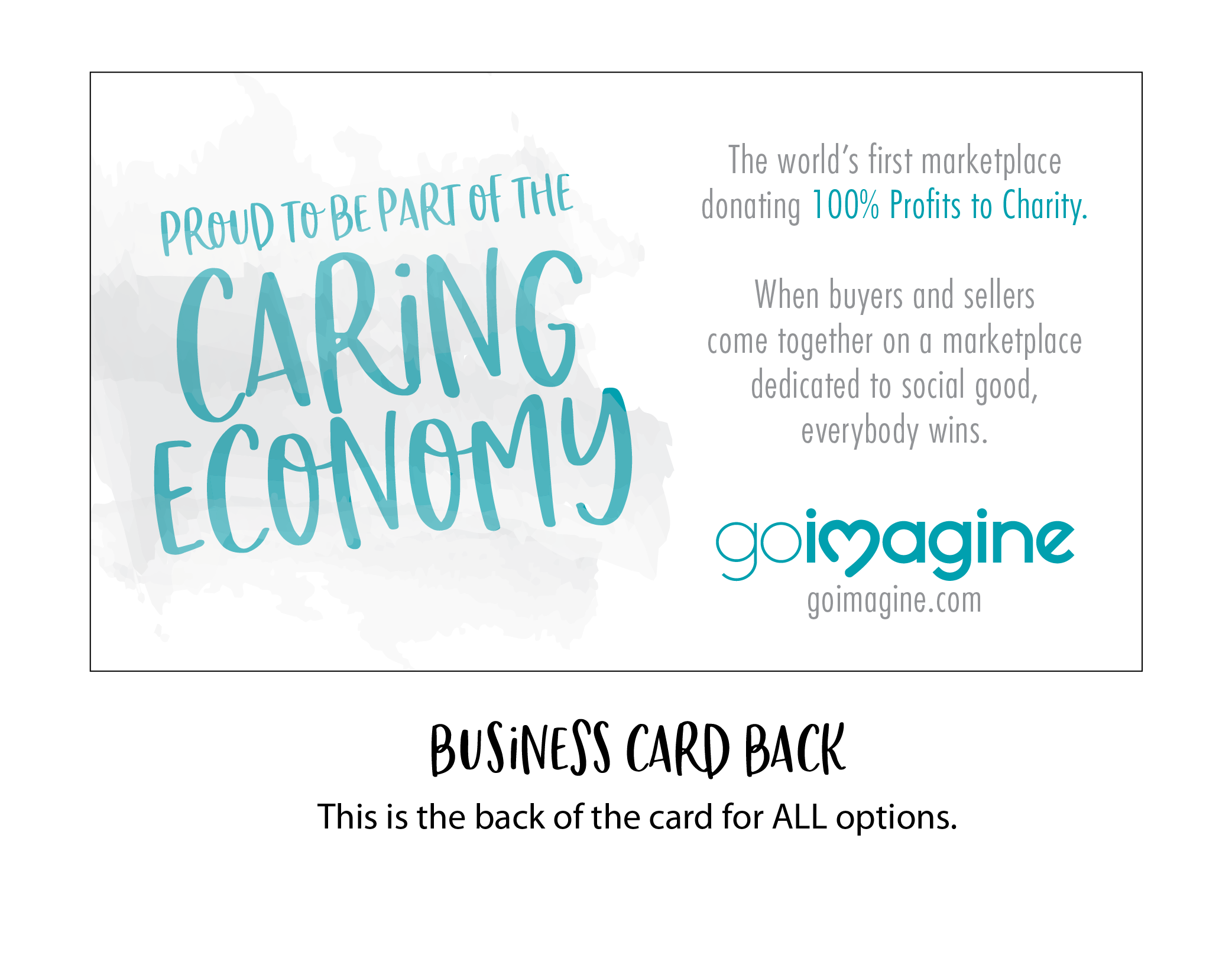 goimagine custom business card back