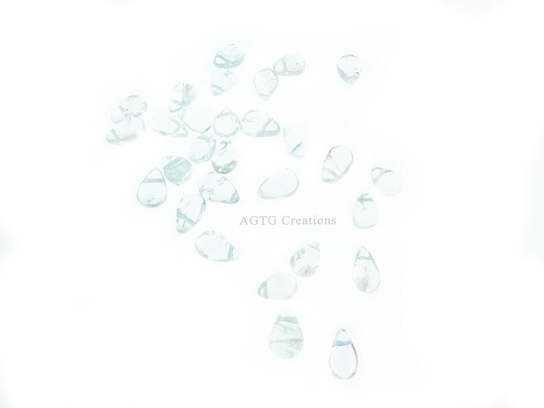 Aquamarine bead variants