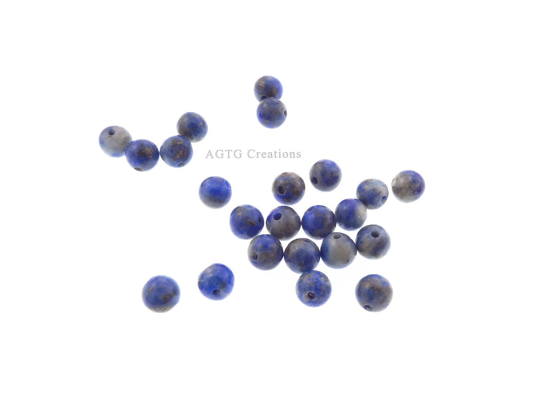 Denim Lapis bead variants