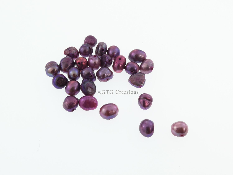 Pink Freshwater Pearl bead variants