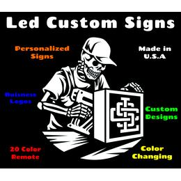 Led Custom Signs