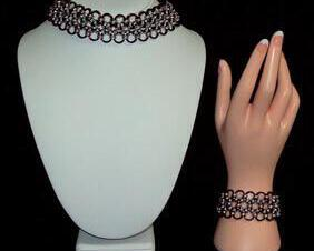Chainmaille Choker or Bracelet, Japanese 12 in 1, Reversible