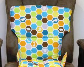 animal hive 3 in 1 highchair replacement pad