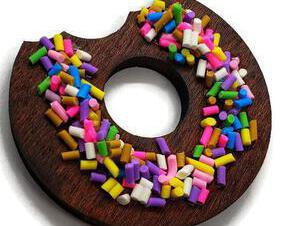 Donut magnets, set of 2