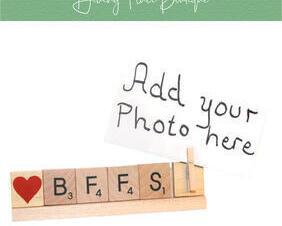 bff photo frame