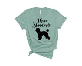 I have standards t shirt