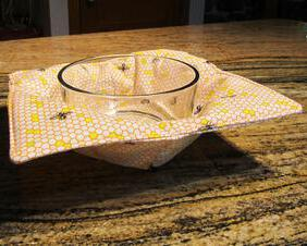 bees in the kitchen bowl cozy