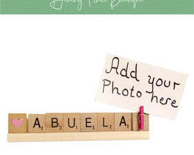 abuela photo frame