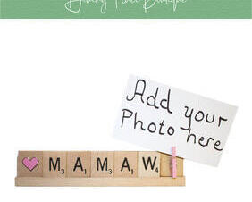 mamaw photo frame
