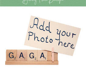 gaga photo frame