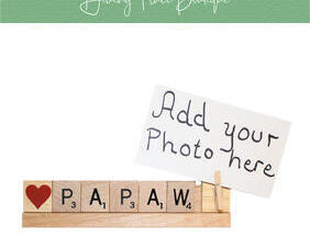 papaw photo frame