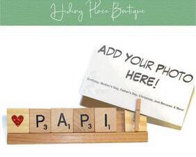 papi photo frame