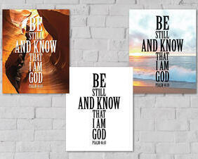 Psalm 46:10 Digital Download, Be Still And Know That I Am God