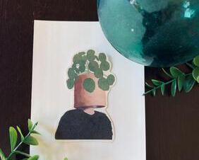 Green Plant Man Ivian Design Co