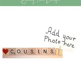 cousins photo frame