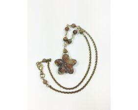 earth tone cute casual necklace for women