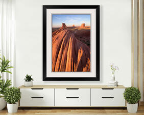 Monument Valley Red Buttes