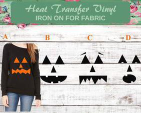 halloween pumpkin shirt decals