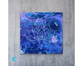 Lotus Flower Wall Art