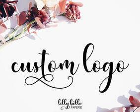 custom design logo for small business branding theme