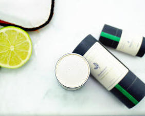 Coconut and Lime Zero Waste All Natural Deodorant
