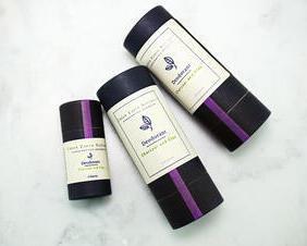 Natural Charcoal and Clay Detox Deodorant