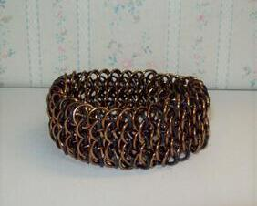 Chainmaille Dragonscale Cuff